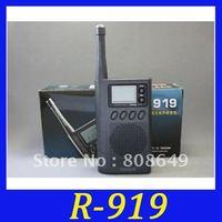 NEW Tecsun R-818 FM/SW/MW Digital Display MULTI-BAND Clock Receiver