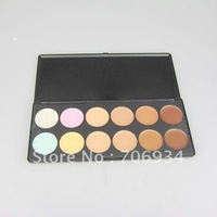 1pcs/lot Professional 12 Colors Comcealer Camouflage Makeup Palatte Volume powder
