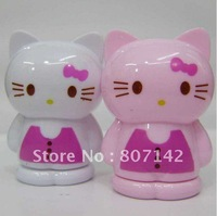 Free Shipping Hello Kitty Pink cat KT hello Kitty pencil sharpener cutting a pen knife cutting a pen implement