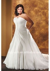 Free Shipping Hot Sale Junoesque Plus Size Halter Bridal Wedding Dress 00609(China (Mainland))