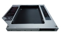 2011 hot saling brand new laptop 9.5mm slim serial ATA SATA to IDE  hard disk bracket hdd rack for 2.5'' SSD HDD