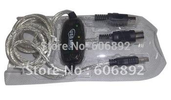10pcs/lot USB midi cable ,midi interface cable ,midi cable support Window 7