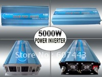 5000w sine wave power inverter 24V DC/110V  AC 50HZ PEAK POWER 10000W ONE YEAR WARRANTY