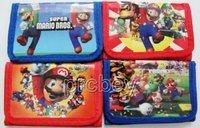 New Lot 12 pcs Super Mario wallet purses gift bags Party Favor