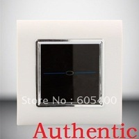 Intelligent switch / red and blue light background / touch switch / double control single switch VL-Q101S-SWC free shipping