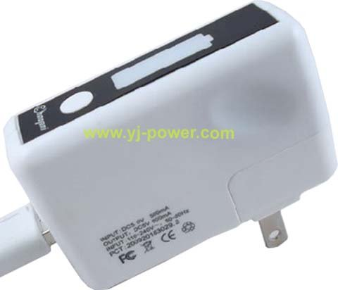 5V mobile phone charger+Portable rechargeable battery /mobile charger MP3, MP4, digital camera,Iphone,Ipad(China (Mainland))
