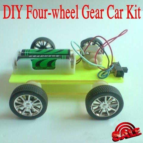 How to Make Toy Car Wheels Wheels Gear Toy Car Diy