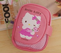 Free Shipping Hello kitty Hard pressure shock resistant digital camera bag camera case camera bag / Backpack / phone bag