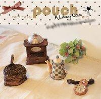 5pcs/lot Lovely MINI Clock Teapot set fashion Photographer studio Prop Hot sale