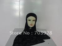 CV7753 Hijabs, Muslim Long Shawls, Islamic Lady Scarves , Islamic Head Cover Free Shipping, Accept Papel
