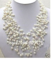 Charming Starriness Real White Pearl Necklace