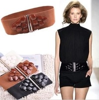 [Free Shipping to All Countries] New Arrival South Korea Design  Elastic Diamond Belt/ Lady's Waist Belt/Croset/BT-001