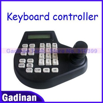 !Free Shipping by DHL!CCTV Keyboard Controller LCD Display for PTZ cameras