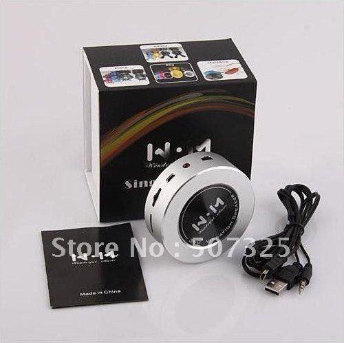 10pcs/Lot, New Arrival Portable Vibration Speaker 360 Omni-Directional Vibration Resonance,2 Colors, Factory Price,Freeshipping(China (Mainland))