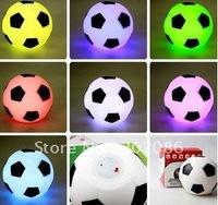 2pcs/lot football style night light Valentine's Gifts LED Flashing Football Light Free shipping