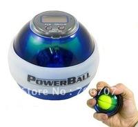 Wholesale - Free shipping 2pcs/lot HOT Power Gyroscope LED Wrist Strengthener Ball+SPEED METER/ Power Grip Ball/ Power Ball