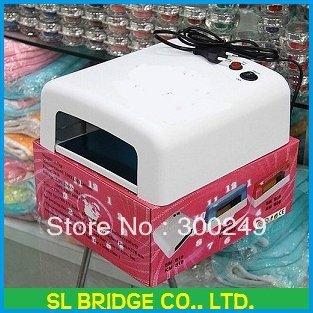 [MOQ1 pcs]36W Art UV Gel Nail Curing Nail Dryer UV Lamp Polish Dryer uv lamp Light 110V 220V Free Shipping   F12090SL