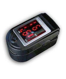 Two black color Finger Fingertip Pulse Oximeter,SPO2 Monitor, Oximetry for Adult