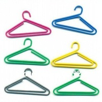 Free Shipping 36PCS/Lot Clothes Hanger Shape Creative Office Stationery Paper Clips and Photo Clips;Fun Clips;Bookmarkers