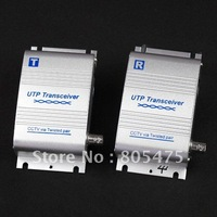 shipping new arrival CCTV Twisted Pair Video Balun UTP Transceiver DC12V 314