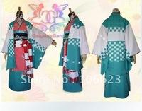 Wholesale Free Shipping Hot Selling Cheap New Halloween Cosplay Costume 4105 Ao no Exorcist moriyama shiemi Kimono for Christmas