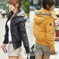 Wholesale fashion coats 2012  fashion thick warm down jacket  jacket  jacket ladies A0027