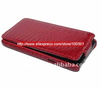 Croco leather Case For Samsung i9100 Galaxy S2