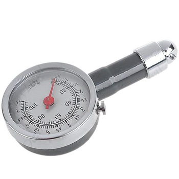 Hot selling ! New Car Motorcycle Tire Portable Air Pressure Meter Gauge 901745-HP-LG-1011 Free shipping
