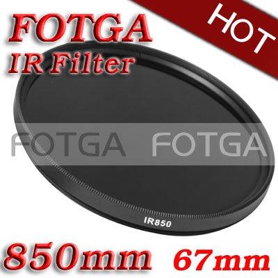 Wholesale IR Filter 67mm 850nm Infrared X-Ray IR Pass Filter 67mm-850nm(Hong Kong)