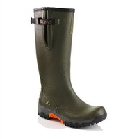 Free shipping 2014 hot sale men Fashion high-grade Foreign trade Tall canister boots/water shoes/wellies/overboot