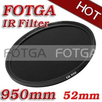 Оптовая продажа ИК-фильтр 52 мм 950nm инфракрасный X - рэй ик фильтр 52mm-950nm