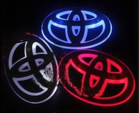 Free Shipping NEW Fashion Shiny LED  Car Emblem Badges  Toyota COROLLA,VIOS,Highlander,CAMRY & REIZ wholesale & retail