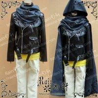 No.6 Nezumi leather Coat+scarf+cloak+shirt+trousers SET Cosplay Costume Custom-made