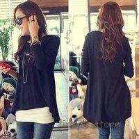 2012  fashion  knit backing ladies round neck shirt Knit TShirt wholesale A03106