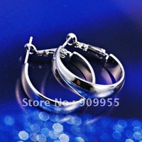 FREE SHIPPING & GOOD QUALITY -- Lovely & Shiny Simply hoop Earrings!!!