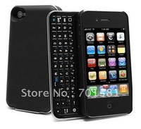 5pcs New Bluetooth Slider qwerty Keyboard Case for iPhone 4G / 4GS free shipping