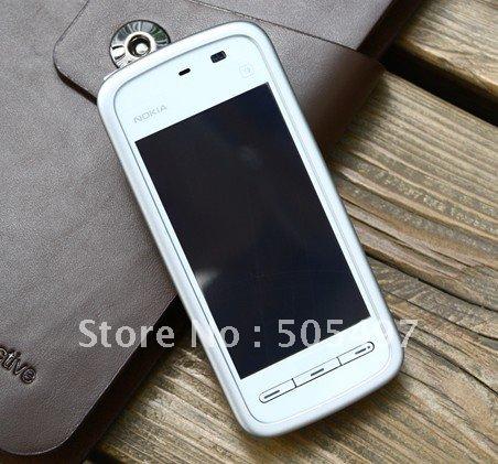 Refurbished Original NOKIA 5233 mobile phone,GSM,3.2inch touch screen,2.0MP Pix camera,Free shipping(China (Mainland))