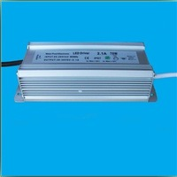 72W 20-60V 1.2-3.6A  Free shipping waterproof power supplies adjustable power supply led constant current circuit