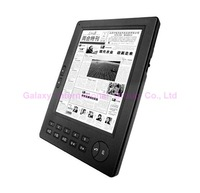Professional 4.5GB ebook reader,FREE Shipping FREE earphone ereader,5 inch E-Ink display,mp3 player
