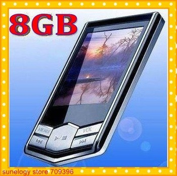"5pcs/lot,Cheapest  and good quality, 8GB MP3 MP4 Player Slim 1.8""LCD FM Radio FM Radio mp4 player +Free Shipping"