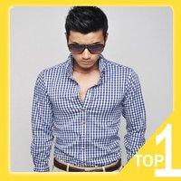 Мужская повседневная рубашка Yefei : ,  : XS, S, M, l Y2429