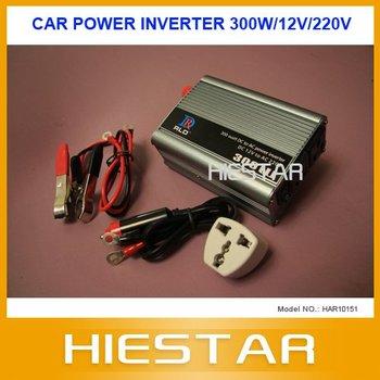 300W Car Power Inverter DC12V to AC220V Car power adapter