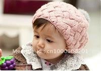 baby Caps children Knitted Cap Children Beanie bernat linecap kids hats toddler Hat(30 pcs/lots)30pcs nfgyt