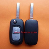 High Quality Hot-selling Renault 2 button remote key blank with free shipping 60%