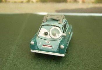 PIXAR Cars 2 Toys - PROFESSOR Z #6