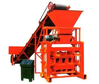 QTJ4-35B2 semi automatic brick making machine