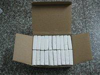 FREE SHIPPING,modeling polymer clay bar blocks 50g/pcs,1000g/lot,white,ECO-FRIENDLY