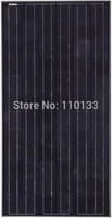 "190W TUV/UL/MCS Accredited/ Bankable Black Solar PV Panel (5"" Mono, 72 Cell)"