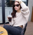 Free Shipping New Arrival Women's Bat Wide Sleeve Off Neckline Casual for Spring Best Selling Wholesale MS2115