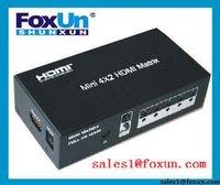 HDMI Matrix with Remote Controller HDCP 2.0 Protocol Compliant